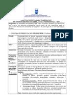 Orientaciones Elaboracion Informe Final (Proceso) Practica i 2013