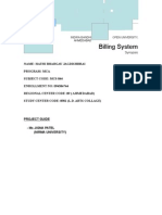 04.Project-billing System New