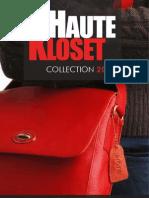 Haute Kloset Catalog 2013