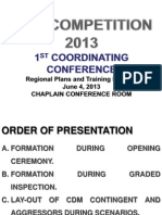 cdm 1st conferrence