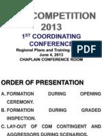 cdm 1st conferrence