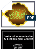 Business Communication Technological Context
