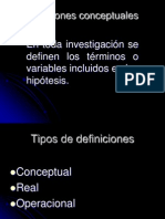 4.Definiciones conceptuales