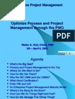 PMO Presentation UH Walter Viali