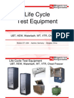 Life Cycle Test Equipment