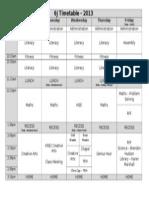 6j timetable