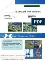 Optimize ITS Network with Wireless