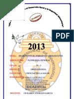 Patologia - Investigacion Formativa - II Unidad