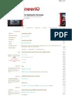 Fire Hydraulics Formulas