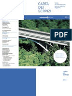 Autostrade Carta Servizi 2013