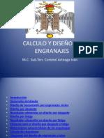 CALCULO Y DISEÑO DE ENGRANAJES