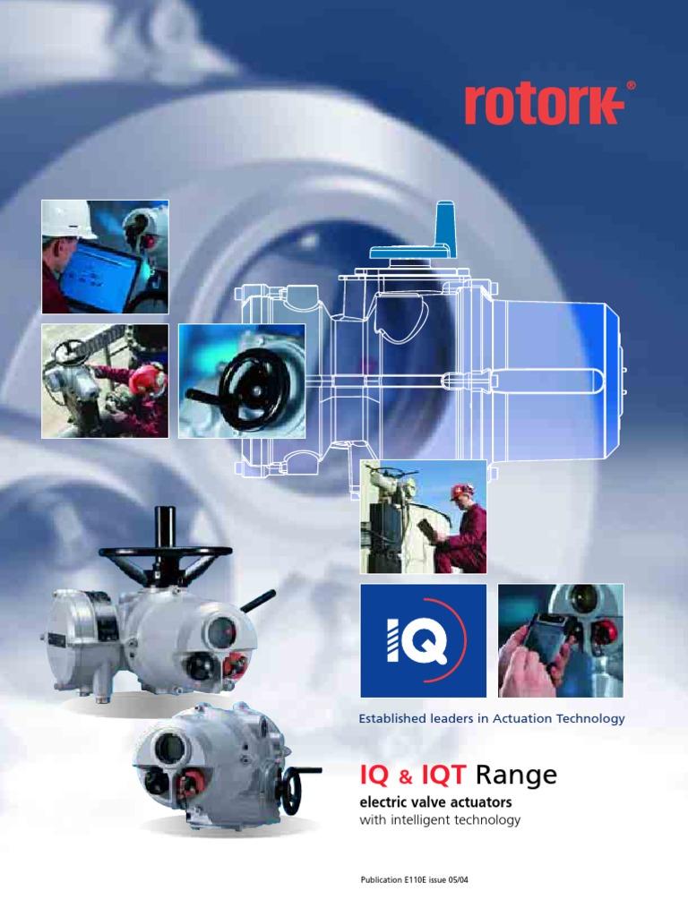 Rotork_E110E | Transmission (Mechanics) | Scada