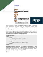Formatando Textos Com HTML
