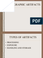 RADIOGRAPHIC ARTIFACTS 2.ppt