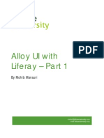Getting Started with Liferay Alloy UI