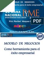 MODELO de NEGOCIOS Como Herramienta Para El Exito Empresarial