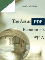 The Assumptions Economists Make