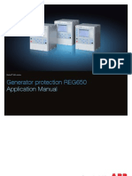 1mrk502033-Uen - En Application Manual Generator Protection Reg650 Iec