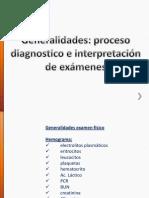 interpretación de examenes