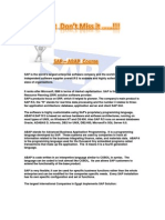 SAP ABAP course1