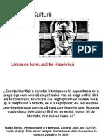 t.c- Limba de Lemn, Politie Lingvistica