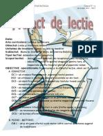 Proiect Limba Romana Cls IV