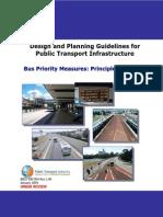 8803 500 004 Bus Priority Measures