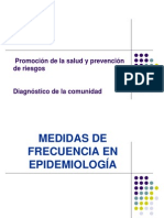 1.1 Diagnostico en La Comunidad (Incidencia y Prevalencia)