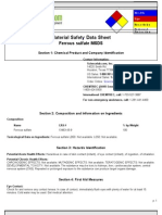 Ferrous Sulfate MSDS.doc
