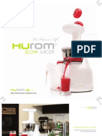 HUROM - Product Brochure 2011 R2