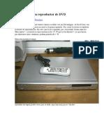 Desguazando Un Reproductor de DVD