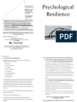 Psychological Resilience 2013
