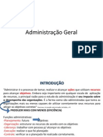 Administracao Geral