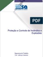 70694293 Protecao e Controle de Incendios e Explosoes