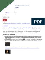 PDF Portfolio tutorial