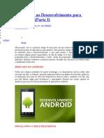 Introdução ao Desenvolvimento para Android I