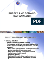 03_DILG_Salintubig - Supply and Demand Gap Analysis