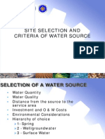 04_DILG_Salintubig - Site Selection and Criteria of Water Source