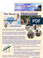 Values for the Yatra JULY 2013