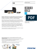 Epson Stylus SX130 Brochures 1