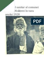 Portretul sanitar al comunei Fundul Moldovei în vara anului 1928