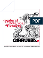 Carrubba Botanical Guide r