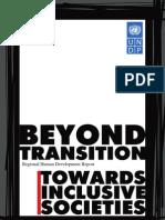 Regional Human Development Report on social inclusion
