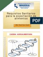 Requisitoa Sanitarios Para Exportar PAOLA FANO