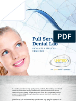 United Dental Lab - Full Service Dental Lab Booklet