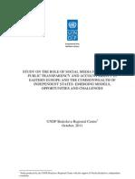 Social media, accountability, and public transparency