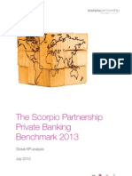 2013 Scorpio Partnership Global Private Banking Benchmark
