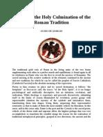 Guido de Giorgio - Dante and the Holy Culmination of the Roman Tradition