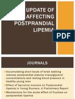 An Update of Factors Affecting Postprandial Lipemia