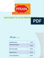 Working capital Management of PRAN BD LTD.